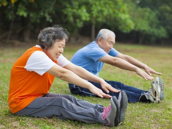 Elderly exercise shutterstock