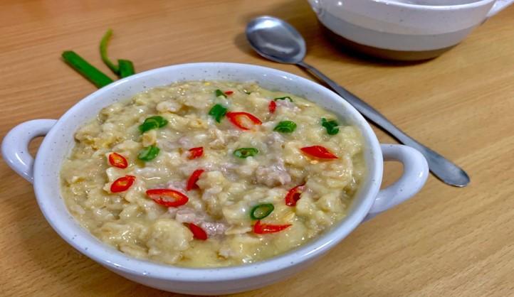 Savoury Oatmeal Porridge