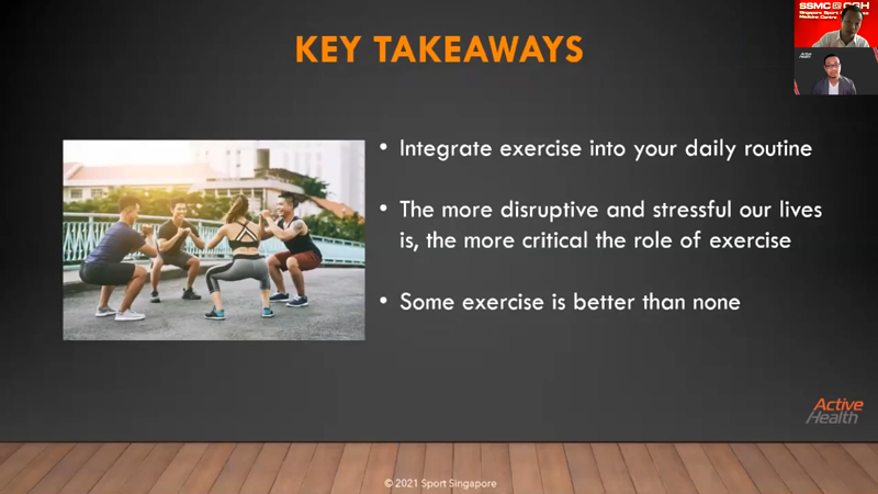 Key Takeaways - Image from Fireside Chat