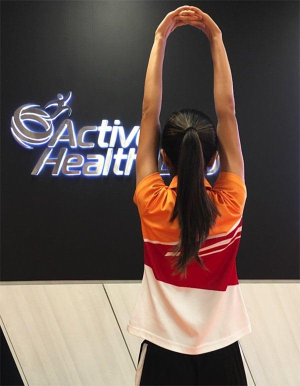 Overhead Stretch