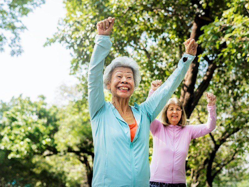 9 best exercises for the elderly